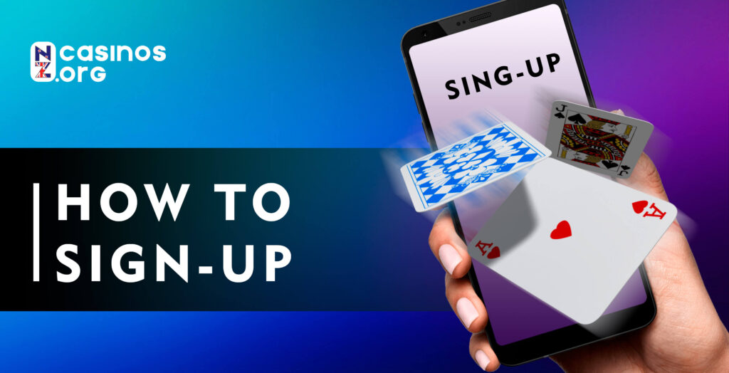 How To Sign Up to Casino